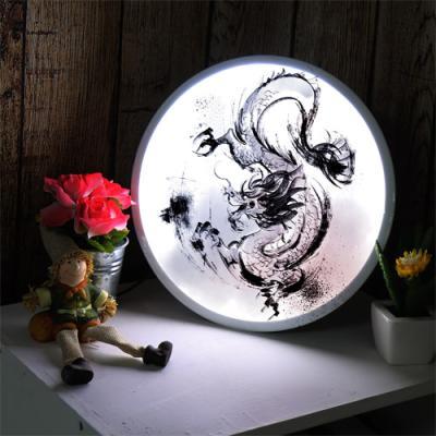 ne646-LED액자25R_중국전통회화