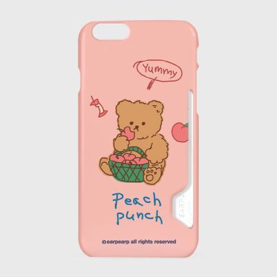 Peach punch-pink(카드수납케이스)