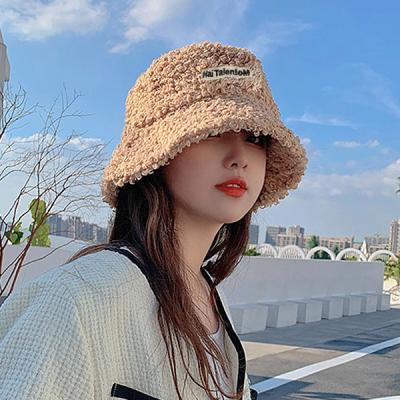 바마 얼굴소멸 여자 겨울 뽀글이 털 벙거지 모자