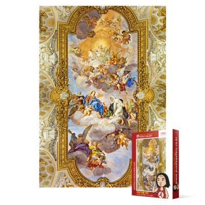 1000피스 직소퍼즐 - 캐서린 성당 벽화 마그나폴리