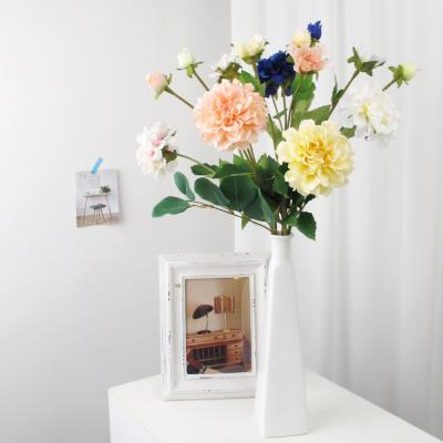 고속터미널꽃시장 다알리아 꽃 62cm 생화같은조화
