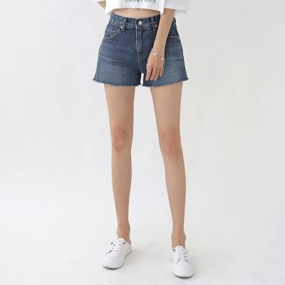 Super Dark Denim Shorts