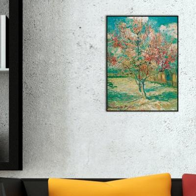 [THE BELLA] 고흐 - 꽃이 핀 복숭아 나무 (모베를 추억하며) Peach Tree in Bloom (Reminiscence of Mauve)