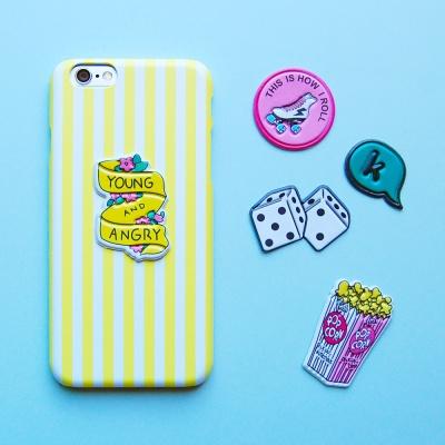 DIY 스티커 케이스-프레쉬 팝콘
