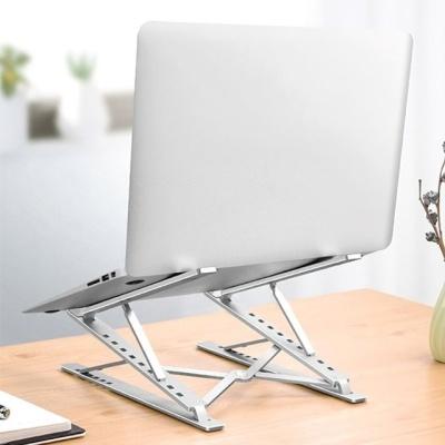 알루미늄 노트북 스탠드거치대 메탈실버