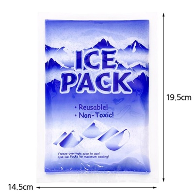 아이스팩 소 14.5x19.5cm 얼음찜질팩 캠핑용품 얼음