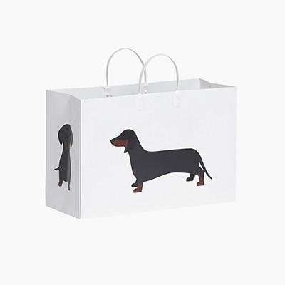PLUSBOX PAPER BAG (Dachshund) (쇼핑백)