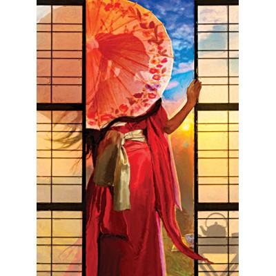 직소퍼즐 [1000조각] - 붉은 옷을 입은 여인 (PR3156)