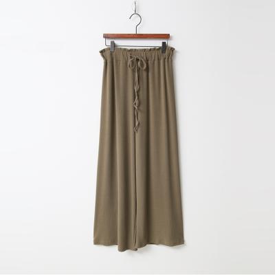 Easy Banding Wide Pants