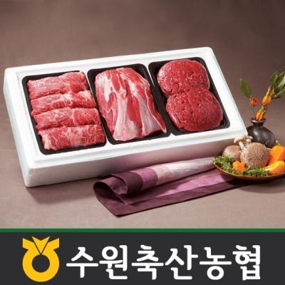 [수원축협]한우 정육세트 1호 1.5kg