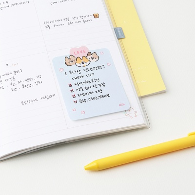그레이스벨 헬로든든 귀여운 메모잇(6종)