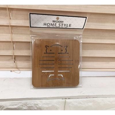 주방용품 우드 냄비받침 부엉이 냄비받침대 받침대