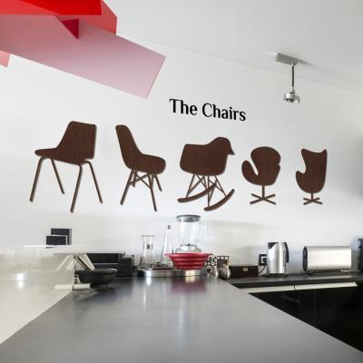 우드스티커- 더체어스 (컬러완제) 의자 W528 포인트