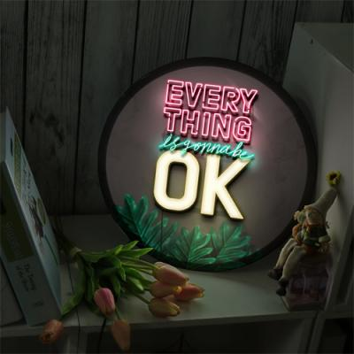 ne581-LED액자35R_Everythings is gonna be ok