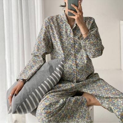 Flower Pajama Set