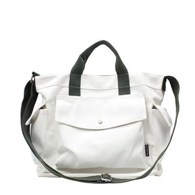 데일리 에코백 캔버스 숄더백 도트백 가방 포켓