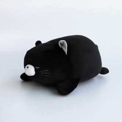 코코몽실 고양이(블랙) 모찌 쿠션