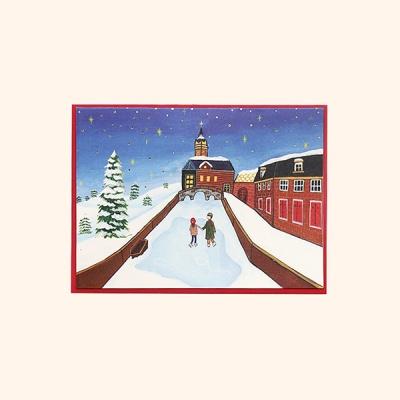 [일러스트 크리스마스카드] 05눈내린 마을