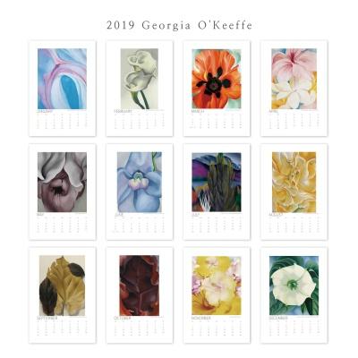 [2019명화캘린더]Georgia O'Keeffe 조지아 오키프 B