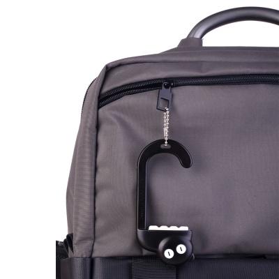 아티아트 휴대용 가방걸이 블랙