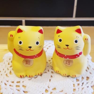 노랑노랑 복 고양이 2종