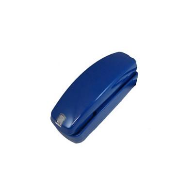 아날로그 블루 벽걸이 전화기