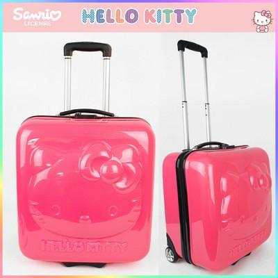 헬로키티 ABS트롤리16.5인치(KTG-MB24P) 아동가방/여행용가방/기내용캐리어/어린이캐리어/선물/여행/해외/팬션/소꿉놀이