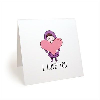카드 - I LOVE YOU