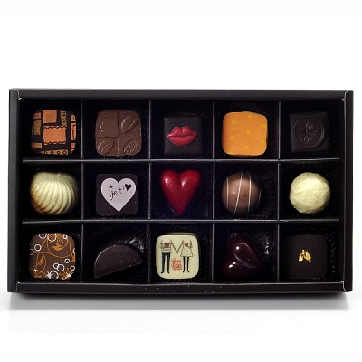 [제이브라운] 정영택 쉐프의 발렌타인데이 초콜릿 기프트 15T