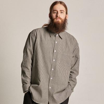 CB 히코리 셔츠 (블랙)