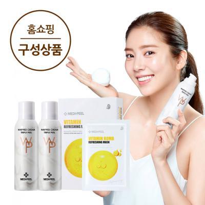 메디필 광필링 생크림필 2통+비타민밤 마스크 10매