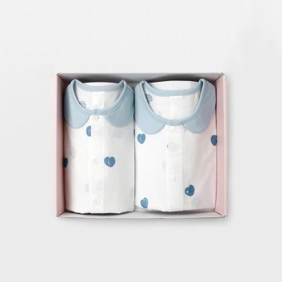 메르베 블루베리 돌선물세트(7부내의+수면조끼)여름용