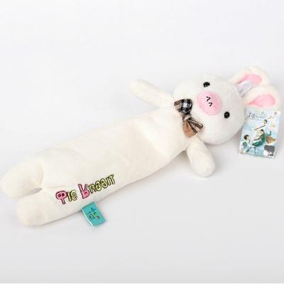 돼지토끼 필통(32cm)/문구점판매용 화방납품용