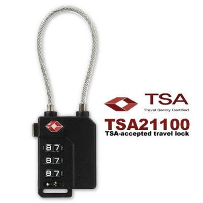[BEAT] 3중번호잠금 와이어자물쇠 TSA21100