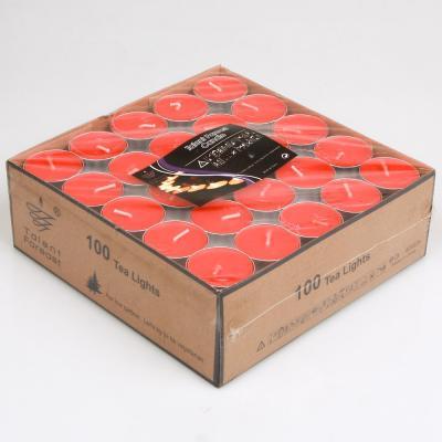 티라이트 캔들 4.5H 프리미엄 (100개입/ 레드)