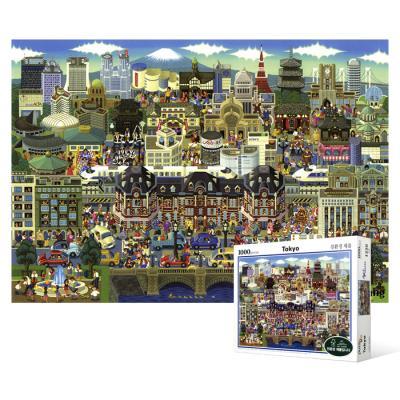 1000피스 직소퍼즐 - 동경 명소 컬렉션