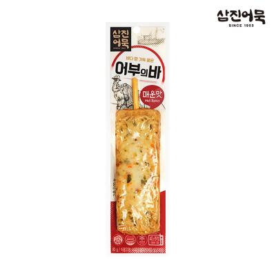 [삼진어묵] 어부의 바 (야채맛 8개+통새우맛 4개)