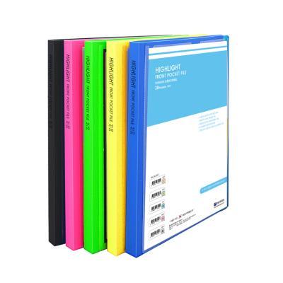 A4 30매 포켓 서류 화일철 레포트 계약서 증권 부동산