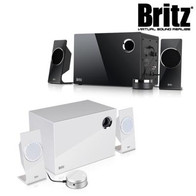 브리츠 프리미엄 2.1채널 스피커 BR-2600M Plus (유선리모컨 장착 / 위성스피커 / 저음강화 전면 에어덕트)