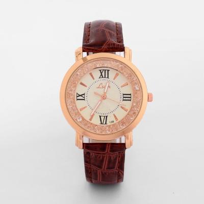 넬슈 여성 손목시계(브라운)