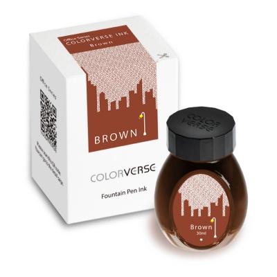 칼라버스 잉크 오피스시리즈-브라운(30ml)