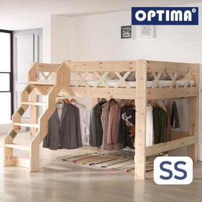 [옵티마]헤라 벙커침대 슈퍼싱글 계단형