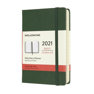몰스킨 2021데일리/머틀그린. 하드 P