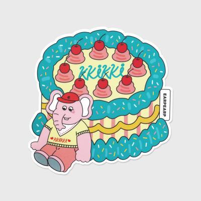 kkikki cherry cake(마우스패드)