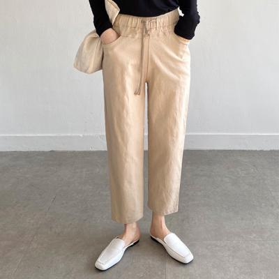 Cross Cotton Baggy Pants