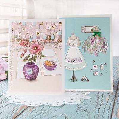 꽃 카드 세트 FT1036 (6종 한세트)
