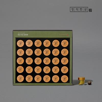 [최저가] 정직한삼 정성가득 6년근 홍삼 녹용 침향환 30환