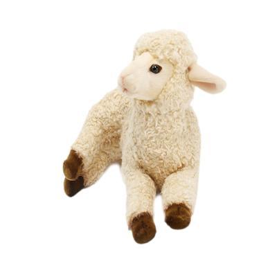 5366번 어린양크림색 Lamb Laying CR/33*20cm