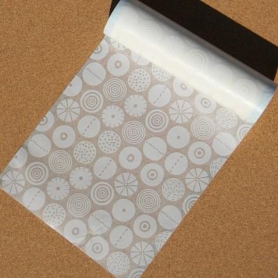 봉투,포장지로도 이용하는 폭230mm Bengt&Lotta 작품-일본 mt 디자인 마스킹테이프 랩 캔디 그레이 wrap15(R)