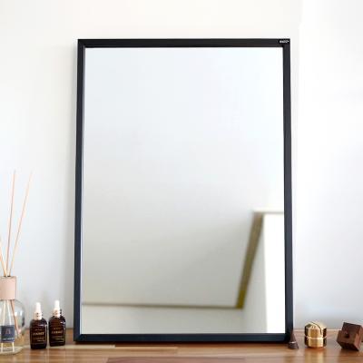 허니 500X700 화장대 탁상 거울 블랙